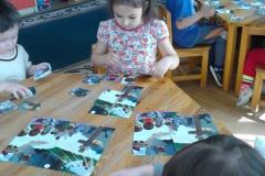 Puzzle játék Húsvét előtt